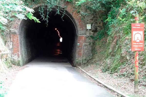 Ruta guiada por la vía verde del Plazaola Navarra