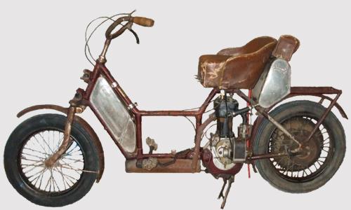 Primeras moto-scooter