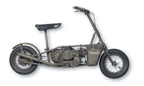 Moto scooter modelo britanico