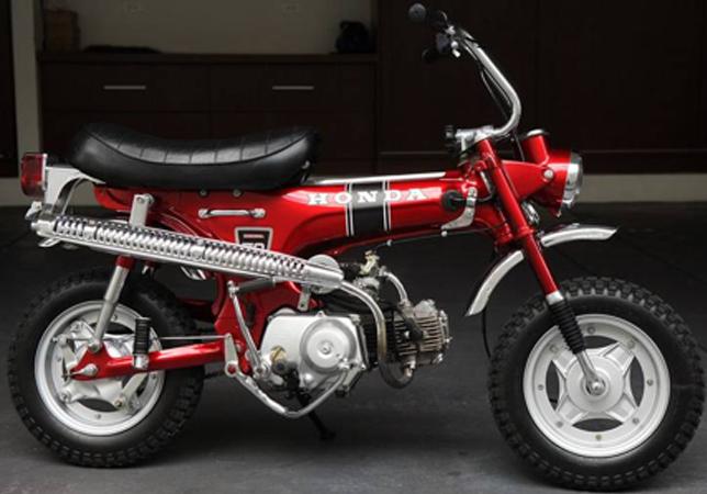 Pequeña moto de Honda